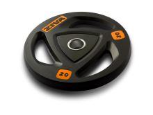 ZVO Rubber Grip Disc 20kg-orange