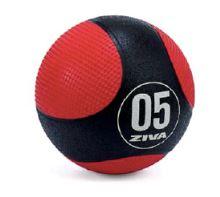 ZVO Commercial Medicine Balls 10kg- black & red
