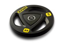 ZVO Rubber Grip Disc 25kg-yellow